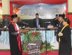 Pelantikan Ketua DPRD Rote Ndao oleh Ketua Pengadilan Negeri Rote Ndao