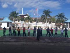 Memeriahkan Dirgahayu Republik Indonesia ke-74 dan HUT MA-RI ke-74 di Pengadilan Negeri Rote Ndao Ke